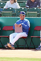 Rudy Jaramillo - batting coach. Chicago Cubs spring training game vs. Arizona Diamondbacks at Hohokam Stadium, Mesa, AZ - 03/05/2010.Photo by:  Bill Mitchell/Four Seam Images.