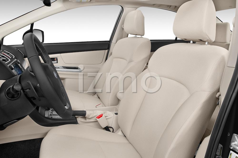 Front seat view of a 2015 Subaru Impreza 2.0I Premium Auto 4 Door Sedan Front Seat car photos