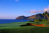 Kauai Lagoons - Kiele, No. 13, Kauai, Hawaii.  Architect: Jack Nicklaus