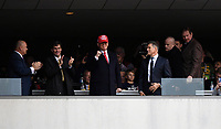PHILADELPHIA, PA - DEC 14, 2019: President Trump during game between Army and Navy at Lincoln Financial Field in Philadelphia, PA. The Midshipmen defeated Army 31-7. (Photo by Phil Peters/Media Images International)