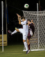The Winthrop University Eagles played the College of Charleston Cougars at Eagles Field in Rock Hill, SC.  College of Charleston broke the 1-1 tie with a goal in the 88th minute to win 2-1.  Adriano Negri (17), Daan Brinkman (4)