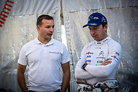 3rd July 2021, Liepaja, Latvia;  BONATO Yoann (FRA) , BOULLOUD Benjamin (FRA), CHL SPORT AUTO, Citroen C3 during the 2021 FIA ERC Rally Liepaja, 2nd round of the 2021 FIA European Rally Championship