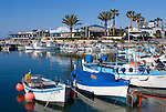 CYPRUS, Agia Napa (Ayia Napa): Limanaki, small harbour of popular holiday resort<br />
