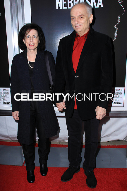 """NEW YORK, NY - NOVEMBER 06: Denise Chase, David Chase New York Special Screening of Paramount Pictures' """"Nebraska"""" held at Paris Theater on November 6, 2013 in New York City. (Photo by Jeffery Duran/Celebrity Monitor)"""