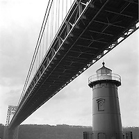 Lighthouse under George Washington bridge<br />