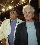 RENZO ARBORE E MICHELE PLACIDO<br /> APERTURA STORE FAY A FONTANELLA BORGHESE ROMA 10/2008