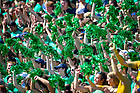 September 18, 2021; The Notre Dame student section during the game against the Purdue Boilermakers at Notre Dame Stadium. (photo by Matt Cashore/University of Notre Dame)