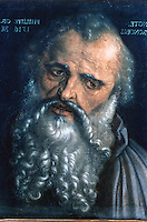 Paintings: Albrecht  Durer-- St. Philip, Apostle.  Galleria Uffizi, Florence.  Reference only.