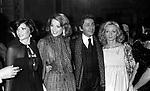PUJA JERMI JERSIKOF CON IRA FURSTERBENG VALENTINO GARAVANI<br /> PREMIO THE BEST PALAZZO PECCI BLUNT ROMA 1977