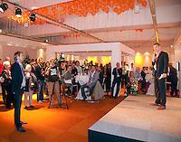 07-05-10, Tennis, Zoetermeer, Daviscup Nederland-Italie, Reaal Lounge