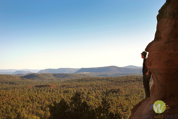 Daniel on hike in Sedona, Arizona