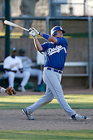Steve Caseres - Los Angeles Dodgers 2009 Instructional League. .Photo by:  Bill Mitchell/Four Seam Images..