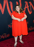 """LOS ANGELES, CA: 09, 2020: Chrissy Metz at the world premiere of Disney's """"Mulan"""" at the El Capitan Theatre.<br /> Picture: Paul Smith/Featureflash"""