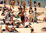 2 DECEMBER 2016 SYDNEY AUSTRALIA<br /> WWW.MATRIXPICTURES.COM.AU<br /> <br /> EXCLUSIVE PICTURES<br /> <br /> Sydneysiders flock to Bondi Beach to cool off on the send day of summer.<br /> <br /> *No internet without clearance*.<br /> <br /> MUST CALL PRIOR TO USE <br /> <br /> +61 2 9211-1088. <br /> <br /> Matrix Media Group.Note: All editorial images subject to the following: For editorial use only. Additional clearance required for commercial, wireless, internet or promotional use.Images may not be altered or modified. Matrix Media Group makes no representations or warranties regarding names, trademarks or logos appearing in the images.