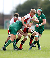 Saturday 8th September 2018 | Ulster U19s vs Connacht U19s<br /> <br /> Riley Westwood during the U19 Inter-Pro between Ulster and Connacht at Bangor Grammar School, Bangor, County Down, Northern Ireland. Photo by John Dickson / DICKSONDIGITAL