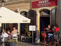 Bar und Restaurant San Marten in der Panska, Bratislava, Bratislavsky kraj, Slowakei, Europa<br /> Bar and Restaurant San Martin in Panska St., Bratislava, Bratislavsky kraj, Slovakia, Europe