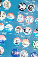 Vintage Presidential Campaign Buttons - Robie's Country Store - Hooksett, NH - 28 Mar 2019