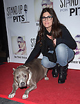 Rebecca Corry and Angel attends The 4th Annual Stand Up for Pits event at the Hollywood Improv in West Hollywood, California on November 02,2014                                                                               © 2014 Hollywood Press Agency
