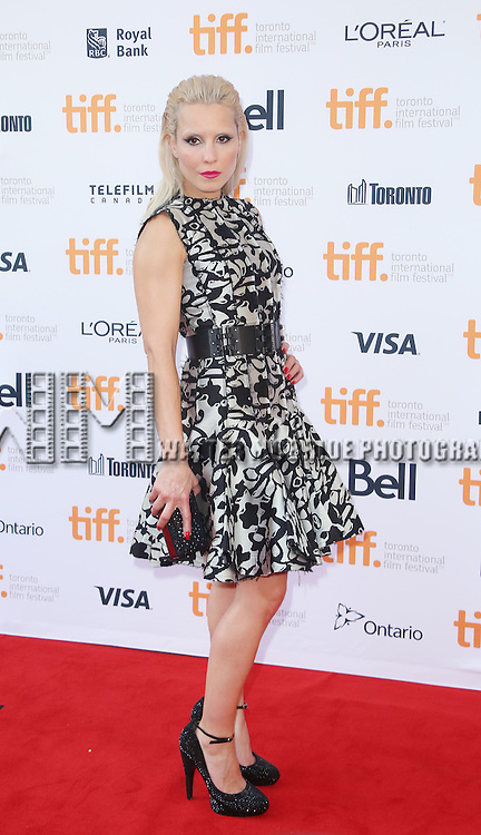 Noomi Rapace attends the 'The Drop' premiere during the 2014 Toronto International Film Festival at Princess of Wales Theatre on September 5, 2014 in Toronto, Canada.