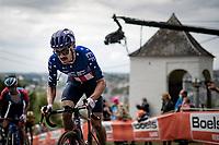 American Champion Alex Howes (USA/EF) up the infamous Mur de Huy<br /> <br /> 84th La Flèche Wallonne 2020 (1.UWT)<br /> 1 day race from Herve to Mur de Huy (202km/BEL)<br /> <br /> ©kramon