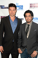 """LOS ANGELES - AUG 11:  Josh Murray, Abhay Walia at """"Final Frequency"""" Screening & Red Carpet at Laemmle Town Center on August 11, 2021 in Encino, CA"""