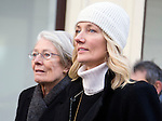 "Pic shows:  Vanessa Redgrave and Joely Richardson<br /> <br /> Funeral of Roger Lloyd-Pack - ""Trigger"" from Only Fools and Horses.<br /> <br /> Mourners arriving at the service at Actors Church in Covent Garden -<br /> <br /> <br /> <br /> <br /> Pic by Gavin Rodgers/Pixel 8000 Ltd"