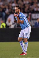 Marco Parolo Lazio.<br /> Roma 20-05-2015 Stadio Olimpico. Football Finale Tim Cup 2015. Juventus - Lazio. Foto Antonietta Baldassarre / Insidefoto