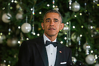 The Obamas Host Reception for Kennedy Center Honorees