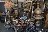 Tripoli, Libya - Antique Metal Ware, Glassware, Tripoli Medina Copper Market