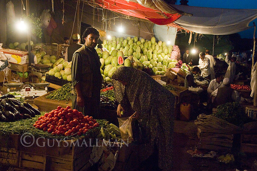 Traditional market in Herat Afghanistan. 25-5-09