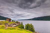 Urquhart Castle on Loch Ness, Scotland, Urquhart Castle,Urquhart Castle