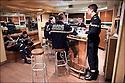 2009 / Officier élève.<br /> Le fumoir.