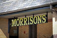 Morrisons Supermarket - sign