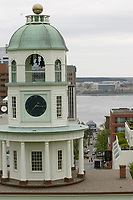 Halifax (NS) CANADA, June 1, 2007 -<br /> <br /> Old Tower clock<br />     photo by Pierre Roussel - Images Distribution