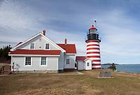 West Quoddy Light, Lubec, Maine