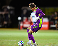 LAKE BUENA VISTA, FL - JULY 26: Thomas Hasal of Vancouver Whitecaps FC passes the ball during a game between Vancouver Whitecaps and Sporting Kansas City at ESPN Wide World of Sports on July 26, 2020 in Lake Buena Vista, Florida.