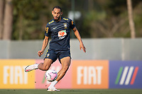 7th October 2020; Granja Comary, Teresopolis, Rio de Janeiro, Brazil; Qatar 2022 qualifiers; Matheus Cunha of Brazil during training session