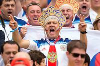 A Russia fan