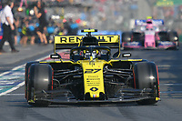 March 16, 2019: Nico Hulkenberg (DEU) #27 from the Renault F1 Team leaves the pit to start the qualification session at the 2019 Australian Formula One Grand Prix at Albert Park, Melbourne, Australia. Photo Sydney Low