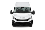 Car photography straight front view of a 2018 Iveco Daily S 4 Door Cargo Van Front View