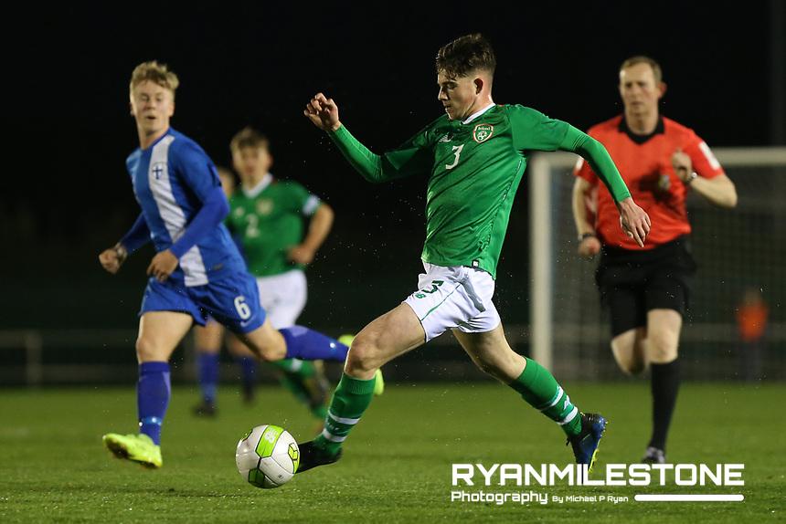 International Friendly<br /> Rep of Ireland U17 v Finland U17<br /> Friday 22nd March 2019,<br /> RSC, Waterford.<br /> James Furlong of Republic of Ireland.<br /> Mandatory Credit: Michael P Ryan