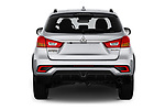 Straight rear view of a 2019 Mitsubishi ASX Invite Style 5 Door SUV stock images