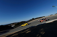 IMSA Continental Tire SportsCar Challenge<br /> Mazda Raceway Laguna Seca 240<br /> Mazda Raceway Laguna Seca<br /> Monterey, CA USA<br /> Saturday 23 September 2017<br /> 54, BNW, BMW 228i, ST, Michael Johnson, Stephen Simpson, 75, Audi, Audi S3, ST, Roy Block, Pierre Kleinubing<br /> World Copyright: Michael L. Levitt<br /> LAT Images