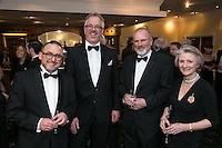 From left are Stefan Wahlen, Goetz Pasker, John Britten and Deborah Hutchinson