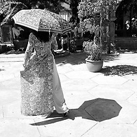 Vietnamese people celebrate Tet day, january 25, 2020 by going to pagoda, honoring the ancestors and taking souvenir photos, usually in Ao Dai traditional dress.<br /> <br /> PHOTO :   Roussel Fine Art Photo