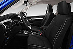 Front seat view of 2017 Toyota Hilux Comfort 2 Door Pickup Front Seat  car photos