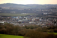 Pictured: Neath as seen from nearby Tonna.<br />