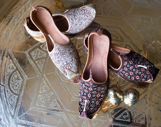 Ethnic Shoes, Kazan Restaurant, Belgrovia, London, Great Britain, Europe