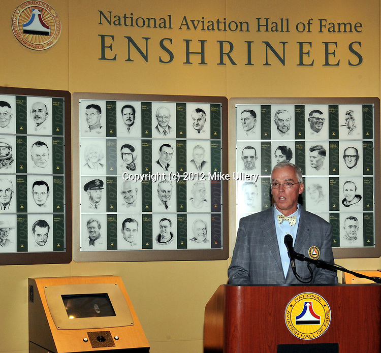 National Aviation Hall of Fame President's reception held inside the NAHF Learning Center at the National Museum of the United States Air Force on October 5, 2012.