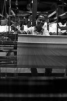 Silk workers in Siem Reap<br /> , Cambodia